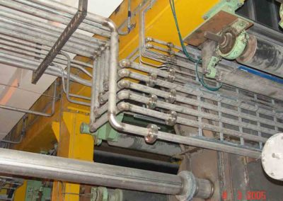 Hydraulic piping for press section