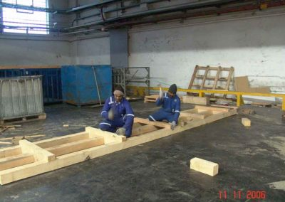 Making of wooden Boxes