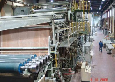 Paper Machine before dismantling