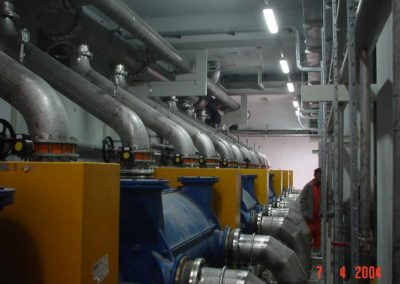 Vacuum pump & piping